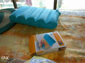 Blue Intex Inflatable Pillow With Box