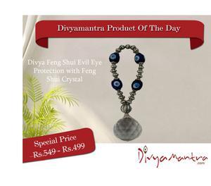 Buy Divya Feng Shui Evil Eye Protection with Crystal Nagpur