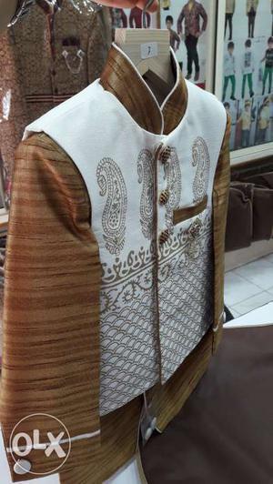 Coat suit Wedding dress for kid age 1- 14. Unused