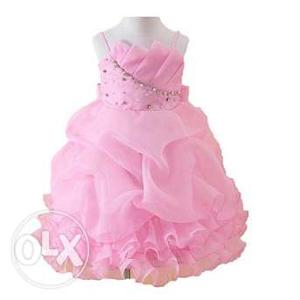 Glamorous Pink Baby Special Occasion Dress