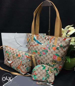 3 pcs purse combo available for sale at best price