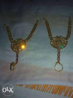 New unused immitation bridal jewellery set for Rs