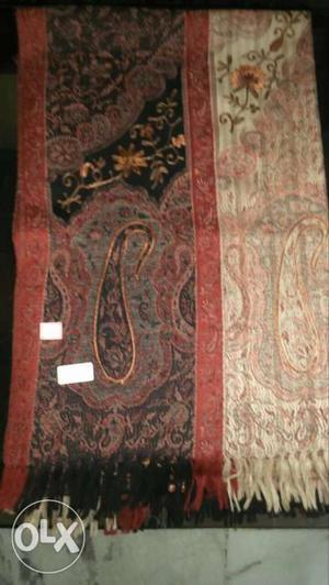 Pure wollen jamavar shawl
