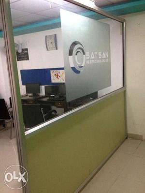 Aluminium Partition for Office use