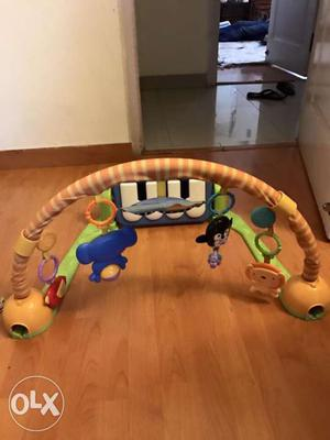 Fisher Price musical playgym along with play mat