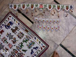 Home maid of all type moti Toran. Aapni choice