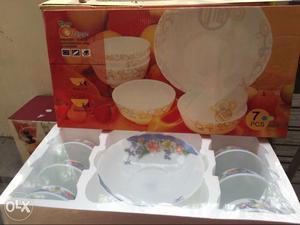 Pudding bowls - 6 small bowls + 1 big bowl