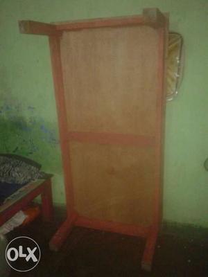 Wood and bed single use for 3 month good