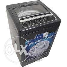 Black Top Load Washing Machine