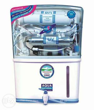 Brand New.Aqua Grand water purifier, with RO. UV.