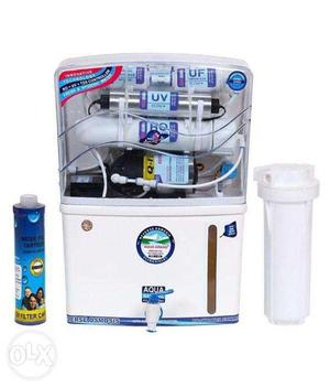 New Aqua Grand + 12 Litre 14 to 14 Stage RO+UV+UF Water