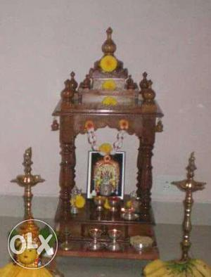 Almost-new Beautiful Pooja Mantap for sale