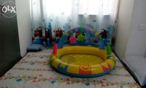 Intex brand new foldable pool, and inflatable pool