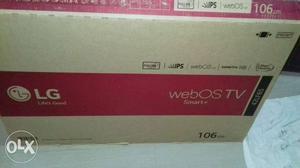 Lg 42inc led tv 3d.smart tv.6 mants used.