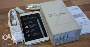 Samsung Note 4 dual sim, box pack new, with