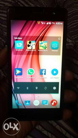 Xolo era x 4G smartfone only one month old