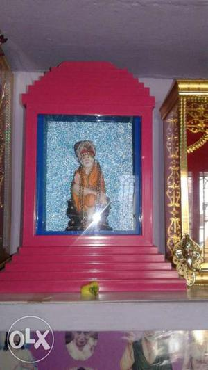 It is a statue of sairam inside the mandapam our