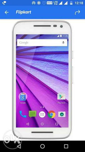 I want to sell my moto g3 mobile with original