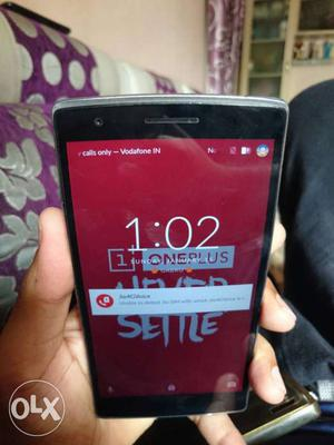 One plus one for sale in grt condition call
