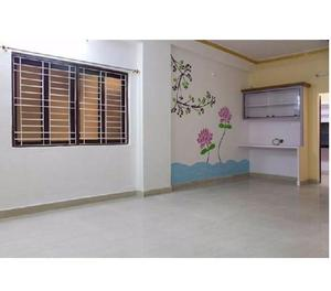 Rent a semi furnished flat in gachibowli for family