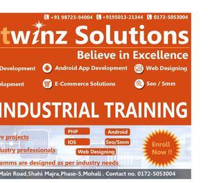 Stipend based industrial training Chandigarh