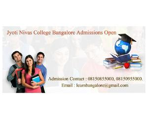 direct admission in jyothi nivas college bangalore