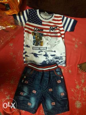 Branded 3 year kids wear T-shirts & jeans Nikkar