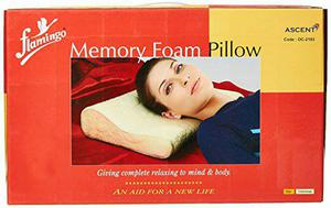 FLAMINGO CERVICAL PILLOW / MEMORY FOAM FOR BEST PRICE IN
