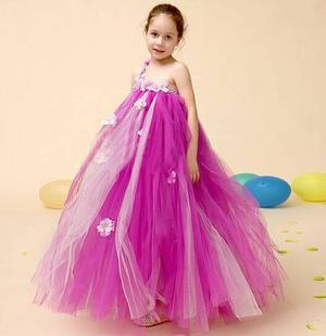 Flower Royal Party Dress