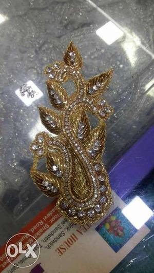 Gold And Diamond Accessory