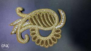 Gold And Diamond Embellish Ornament