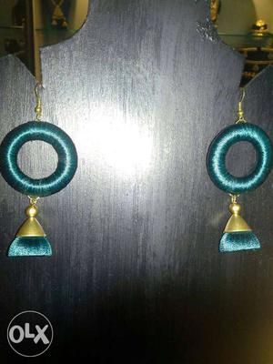 Thread earings at very low cost