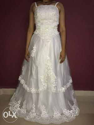 Wedding dress for sale. Prestine condition. Only