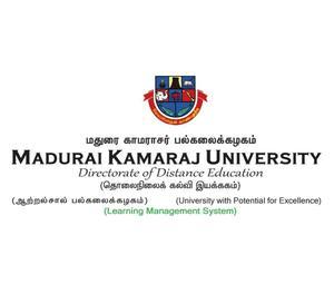 Admission Open in Madurai Kamaraj University For Apr & Dec