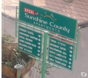Ansal 4 bhk flat for rent in susnsine county kundli sonipat