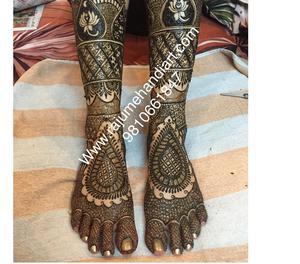 Best mehandi wala in delhi, bridal mehandi artist New Delhi