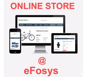Get your Own Online shopping Website at just 15k from eFosys