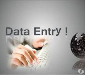 We are Providing Genuine Data Entry Outsourcing Non-Voice Pr