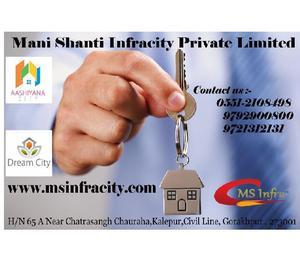 We provide residential land & plots in gorakhpur