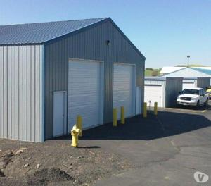 industrial shed with rcc gi peb structure for rent