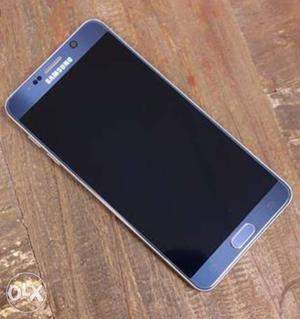Samsung note 5 (black sapphire) mint conditions