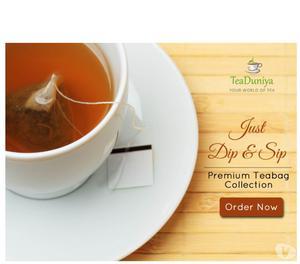 We deliver Garden-Fresh tea at your door step Kolkata