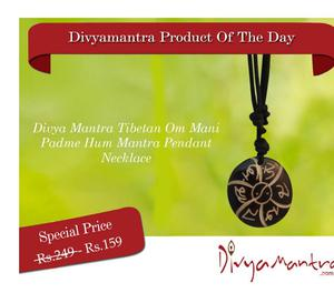 Buy Tibetan Om Mani Padme Hum Mantra Pendant Nagpur