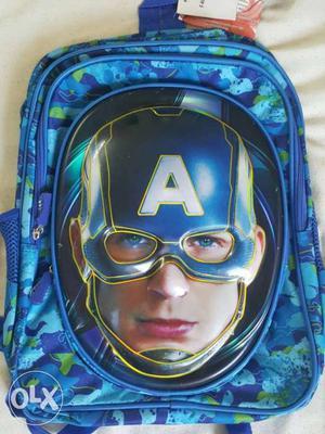 5d Captain America School Bag fantastic features