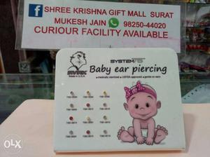 Baby Ear Piercing Set