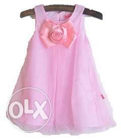 Baby Pink Summer Dress for Special Occasion
