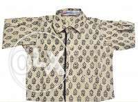 Boys Printed Summer Casual Wear Shirt for Kids