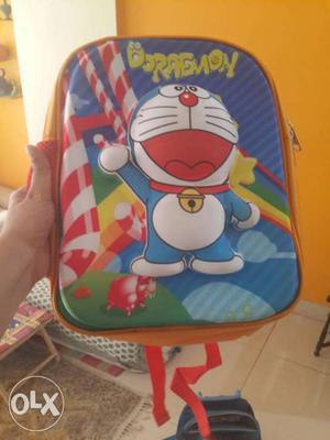 Brand new doremon back pack bag for kids