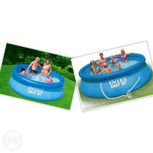 INTEX Inflatable Swimming Pool with Electric Air