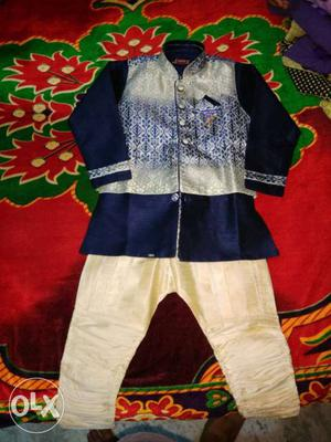 Kids wear for 5 to 6 years boy's party wear new and not used